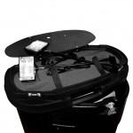 Kufer-trybunka - akcesoria